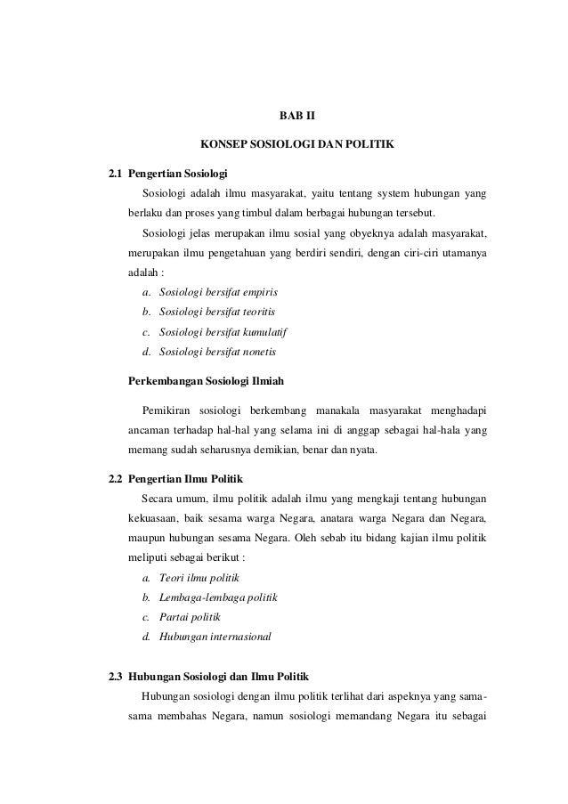 Resume sosiologi dan politik Slide 3