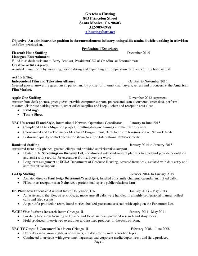 resume star2