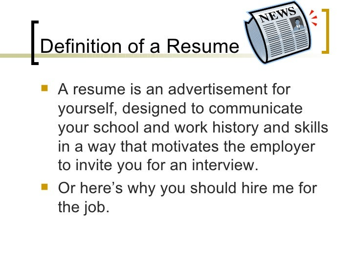 resumes that rock