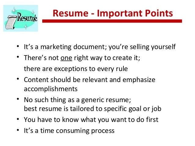 resume strategies the realities
