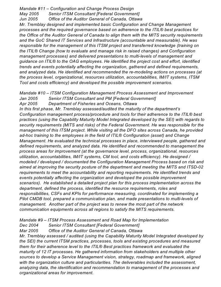 resume s  tremblay sept 2011