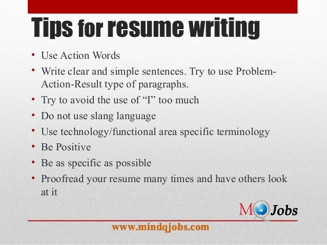 Key Resume Words Phrases  Action Words To Use In A Resume