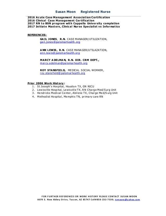 Resume Sue Moon 8252016