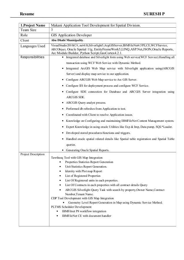 Resume Sureshp