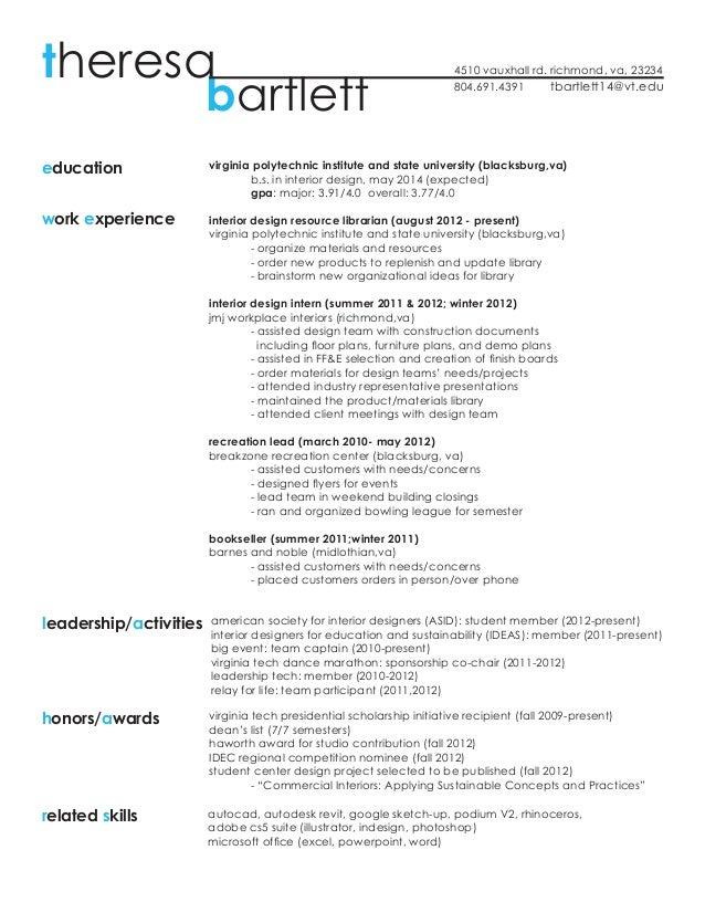 Resume + Work Samples