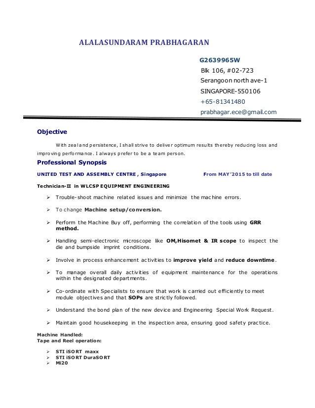 Resume tech