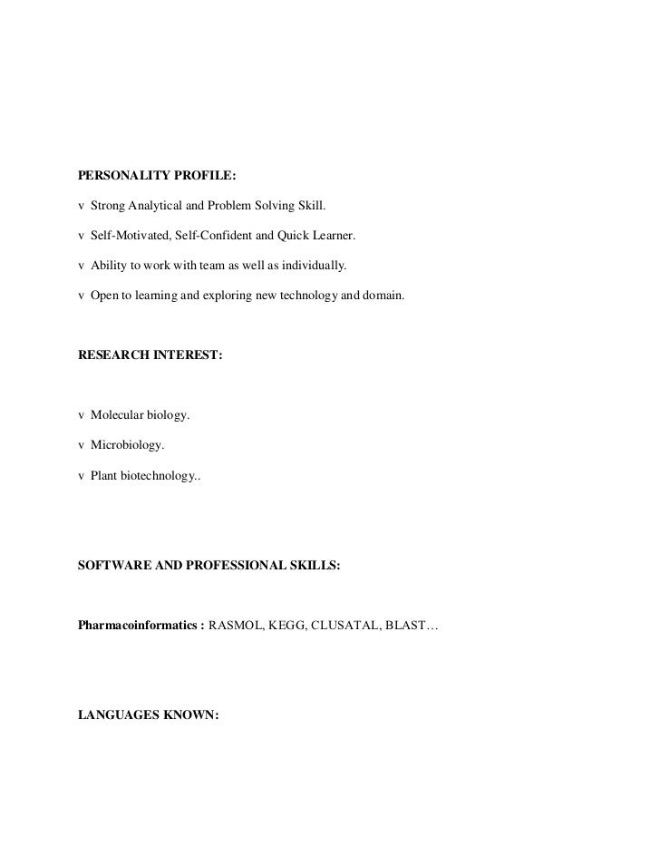 Resume Examples Sample Resume For Fresher Software Engineer