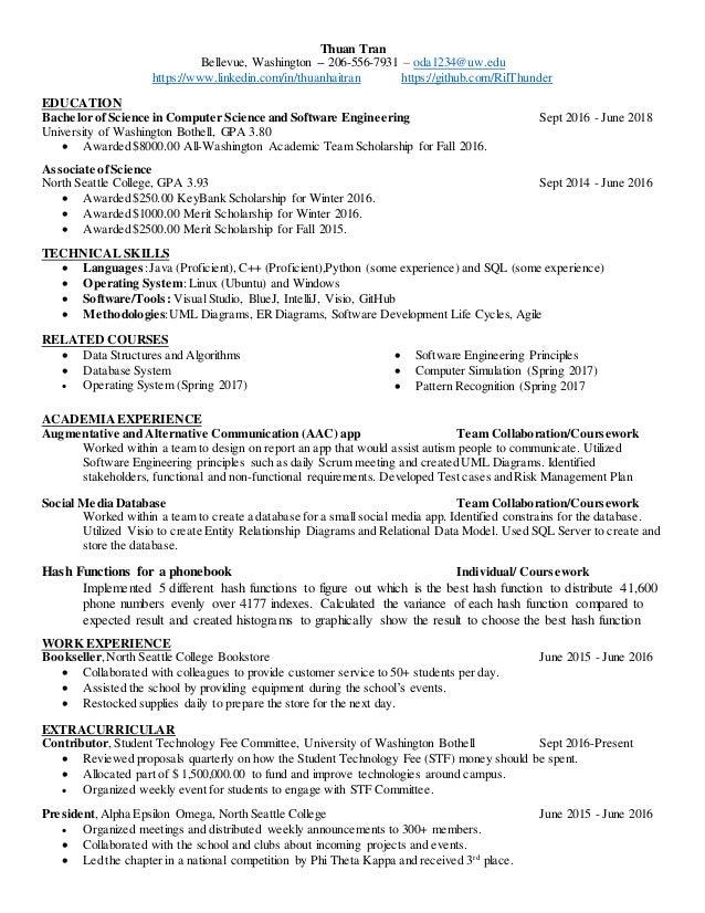 Resume Thuan Tran