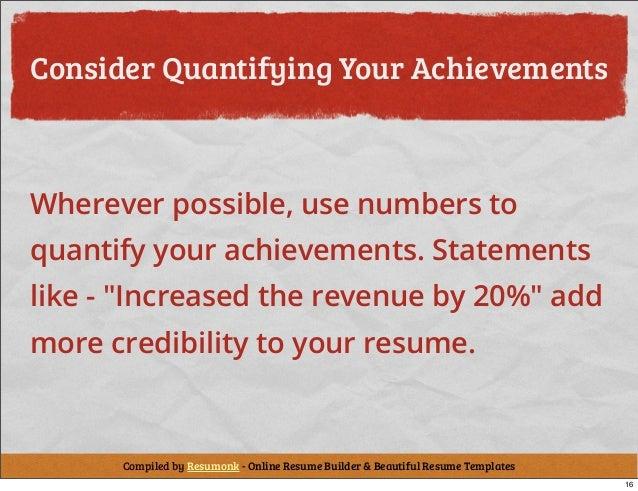 how to write a resume  cv