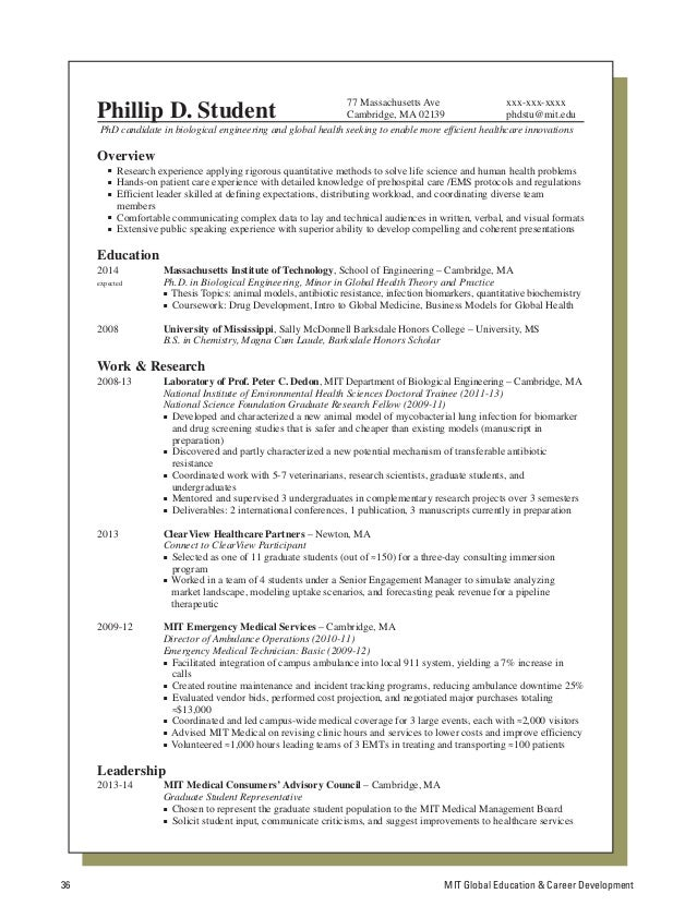 Download Mba Military Resumes From Hbs Mit Sloan Tuck Yale Som Harvard  Business School Resume Format