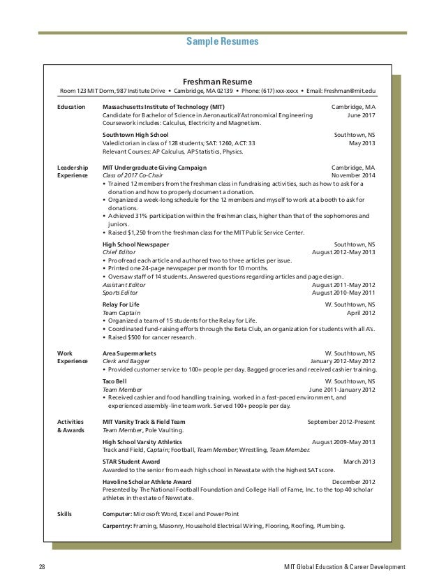 Real Resumes for Sports Industry Jobs   PDF Books to Read Online     DocPlayer net Athlete Student Resume