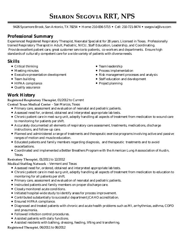 Resume To Use