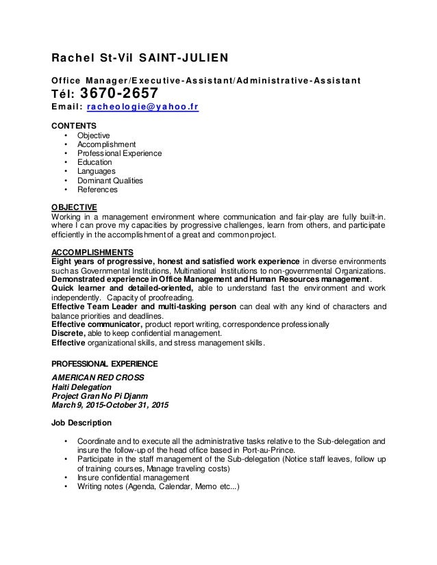 resume updated may 4 2016