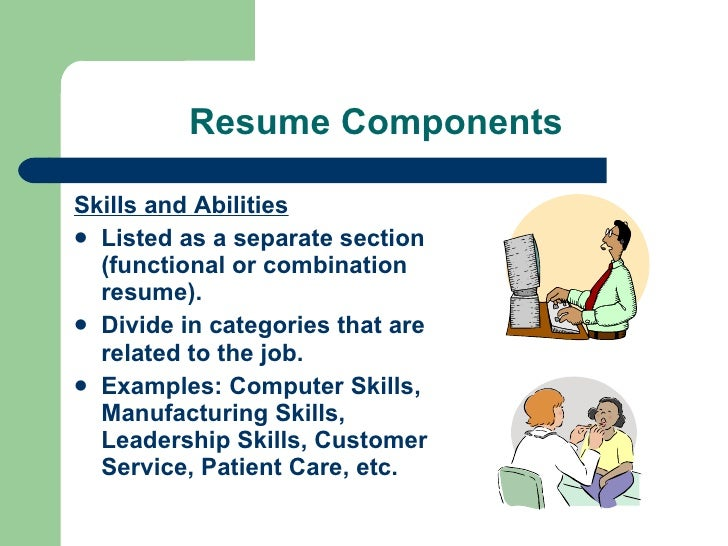 skills and talents for resume