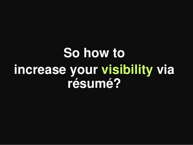 power up your resume  useful tips