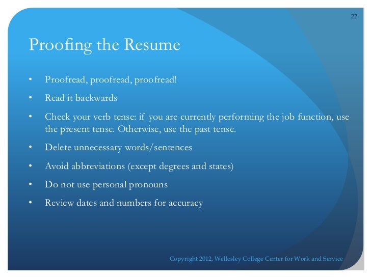 resume online workshop
