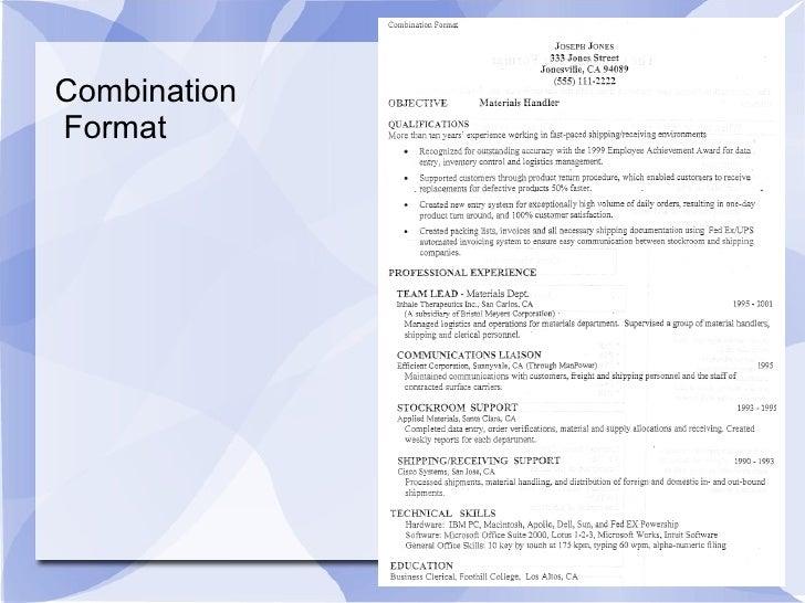 job placement circle resume workshop