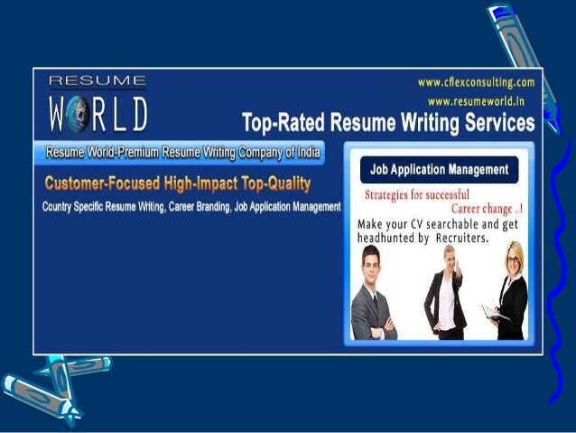 Welcome To Resume World Resume World (a Unit Of Cflex Group); Is Indiau0027s ...