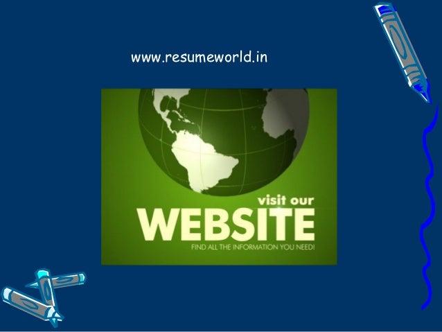 wwwresumeworldin
