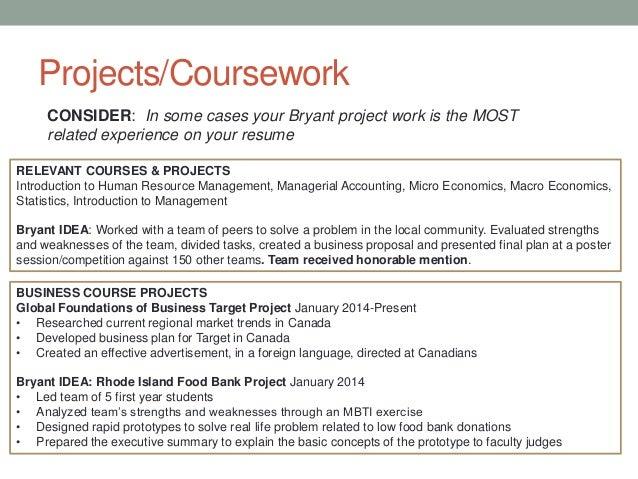 Describing Coursework On Resume - image 3