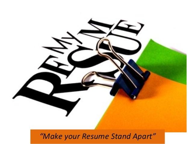 resume writing rh slideshare net