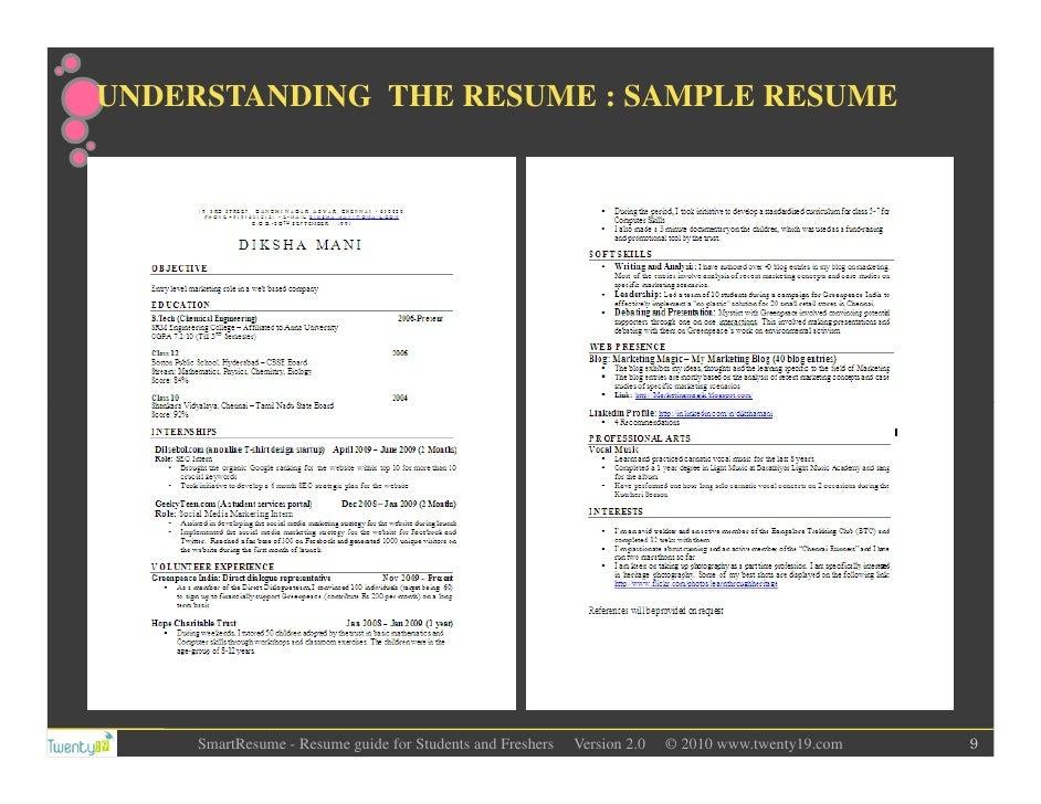 https://image.slidesharecdn.com/resumewriting-forstudentsandfreshers-111017040138-phpapp02/95/resume-writing-for-students-and-freshers-9-728.jpg?cb\u003d1318824133