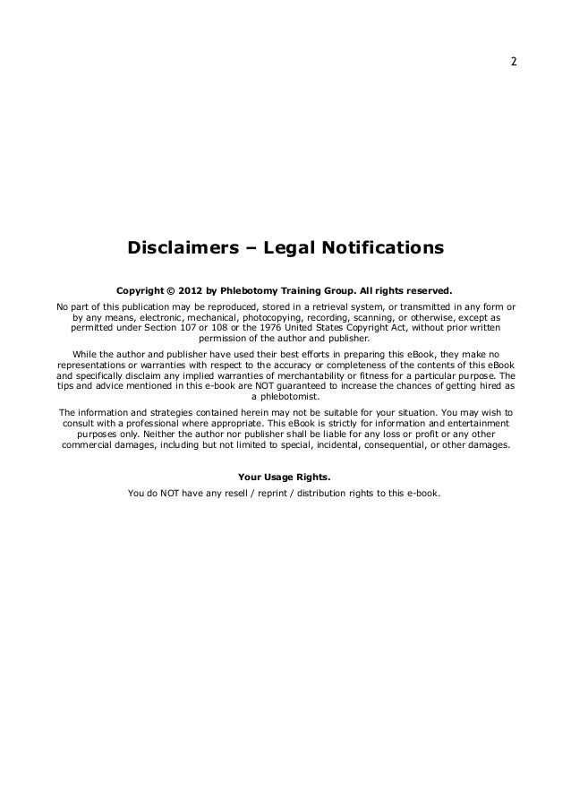 SlideShare  Phlebotomist Resume Objective
