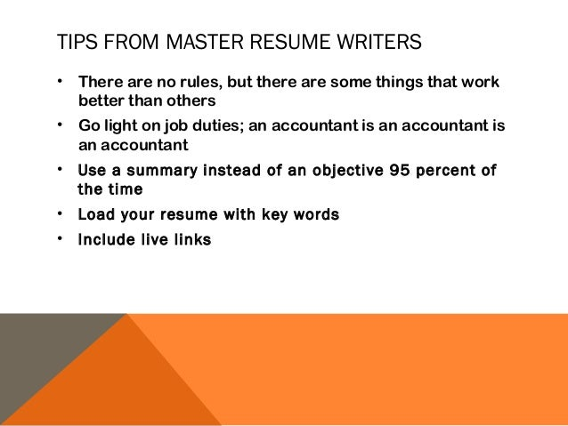 Resume Basics for Ministry Connections