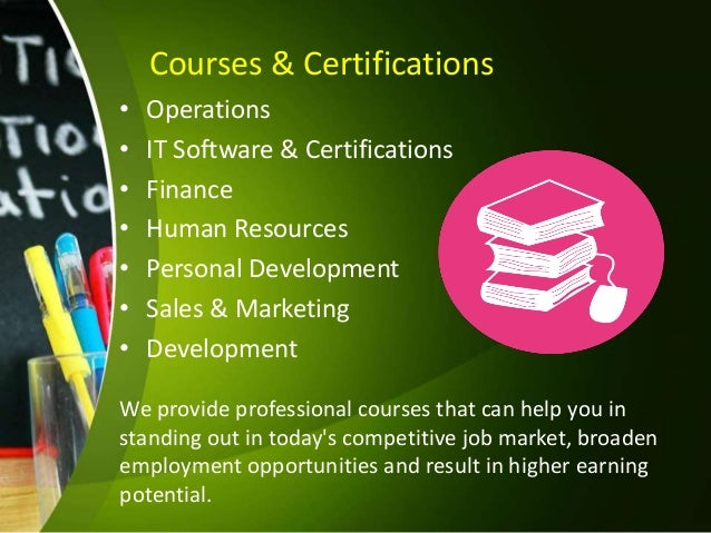 resume writing and professional courses online