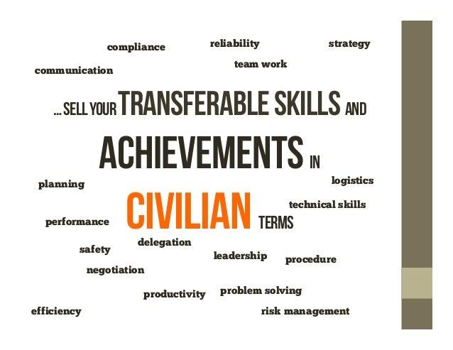 military resume service