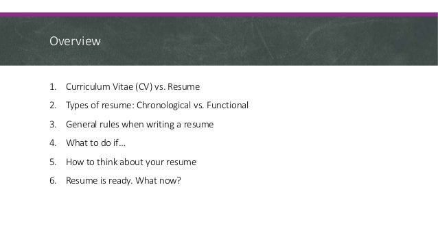 Resume Writing For Immigrants