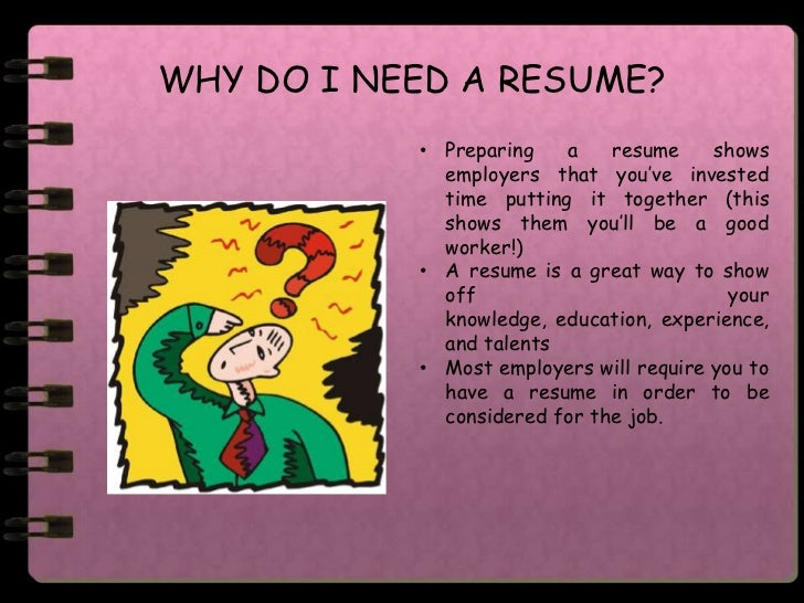 do i need a resume april onthemarch co