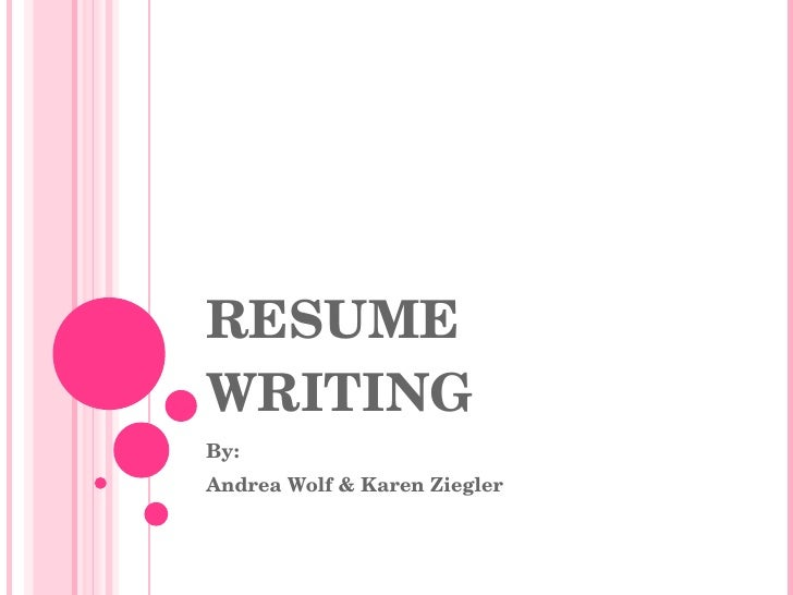 Resume Writing for High School Students - PowerPoint PPT Presentation