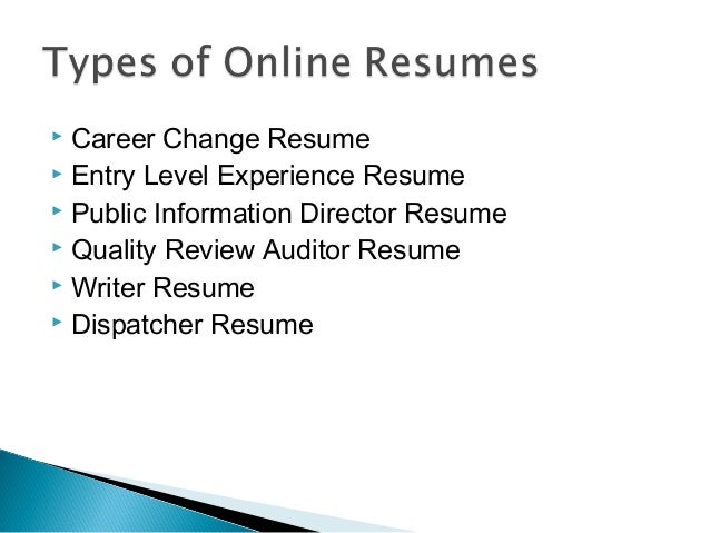 14. Career Change Resume ...