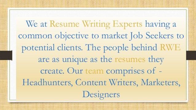... 3. We At Resume Writing ...