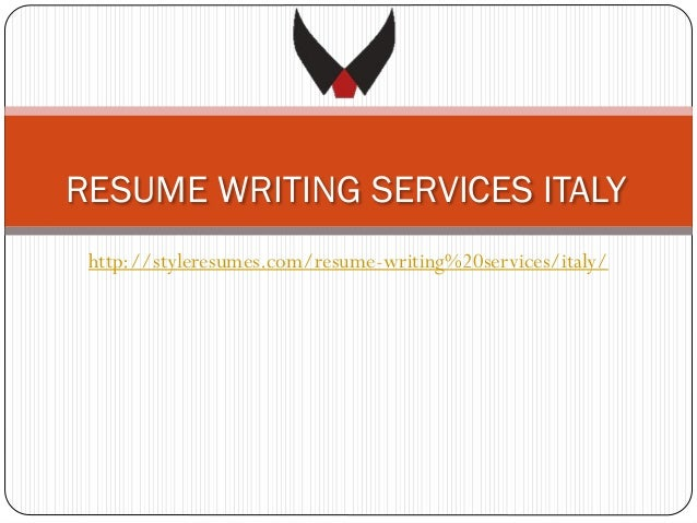 RESUME WRITING SERVICES ITALY http://styleresumes.com/resume-writing%20services/italy/