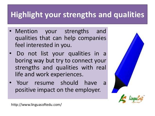 improve your resume