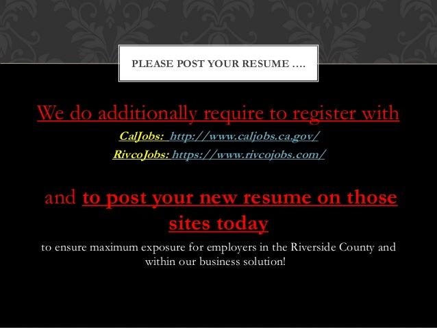 resume writing workshop final