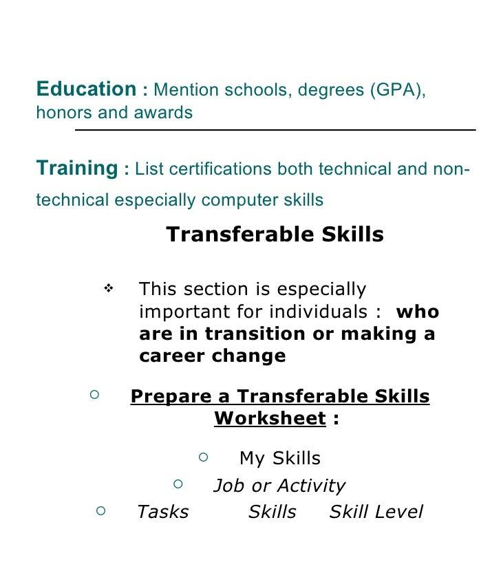 resume writing workshop  2