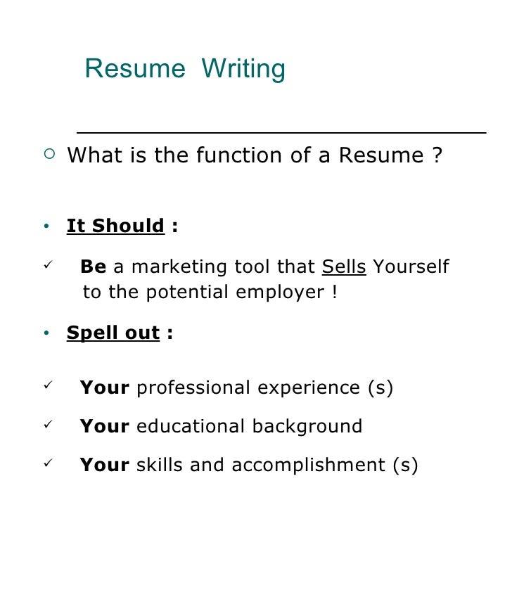 Resume Writing   Resume Writing Tool