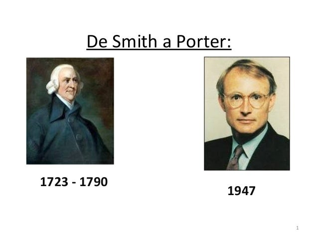 De Smith a Porter: 1723 - 1790 1947 1