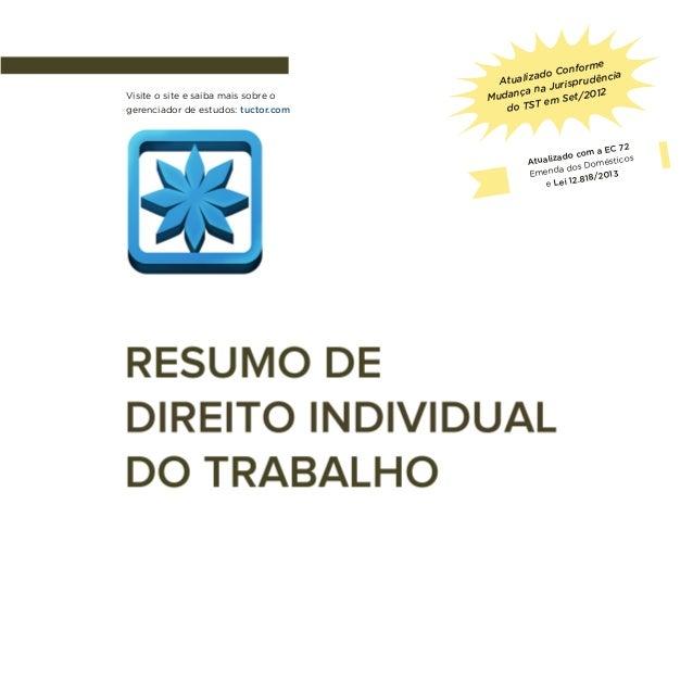 Visite o site e saiba mais sobre o gerenciador de estudos: tuctor.com  rme Confo zado dência Atuali rispru u a na J /2012 ...