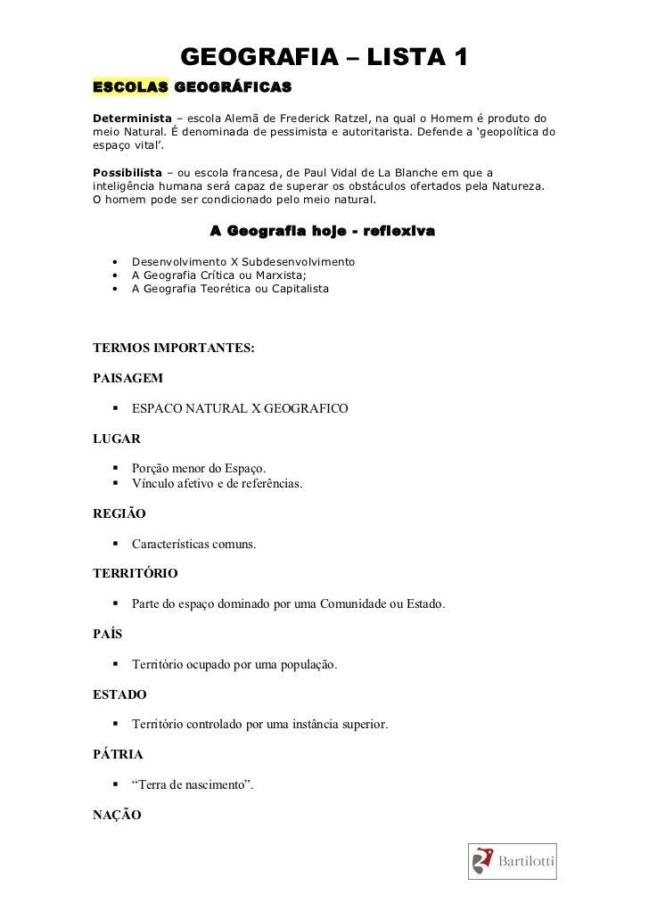 Resumo - Introduçao a Geografia Slide 3
