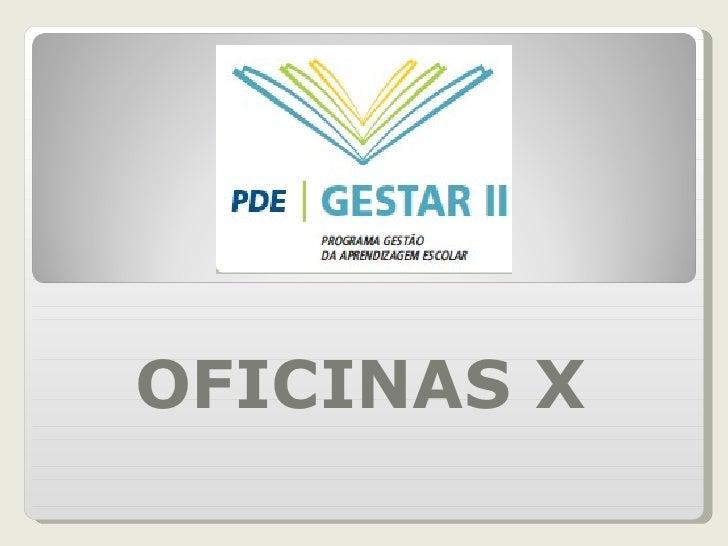 OFICINAS X