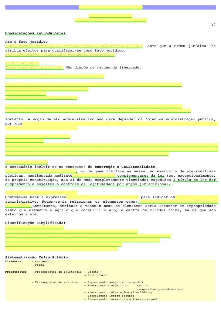 """EstudodoAtoAdministrativo                                                 """"Ofícioéofício...                          ..."""