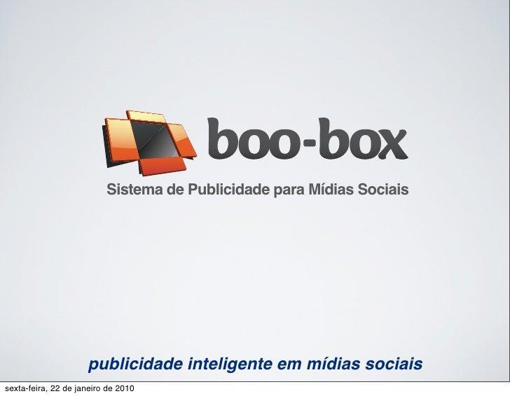 Sistema de Publicidade para Mídias Sociais                          publicidade inteligente em mídias sociais sexta-feira,...