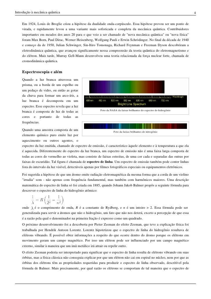 Teoria quantica resumo