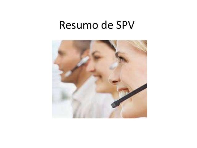 Resumo de SPV