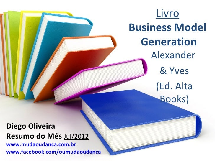 Livro                                 Business Model                                   Generation                         ...