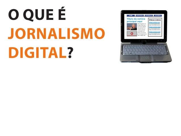 Revisão de jornalismo digital Slide 2